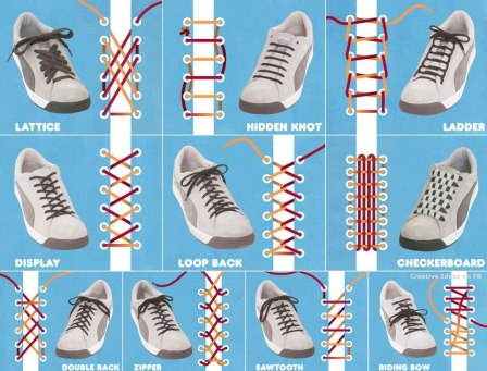 shoelace designs