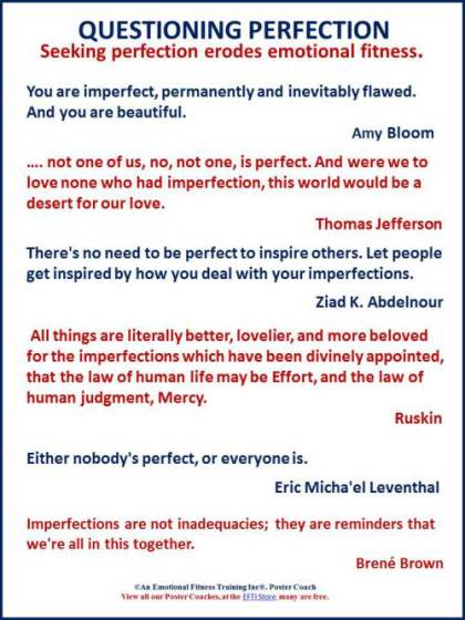 Anti-perfection quotes